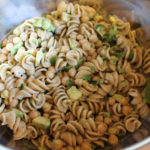 Vegan Avocado Chickpea Pasta Salad