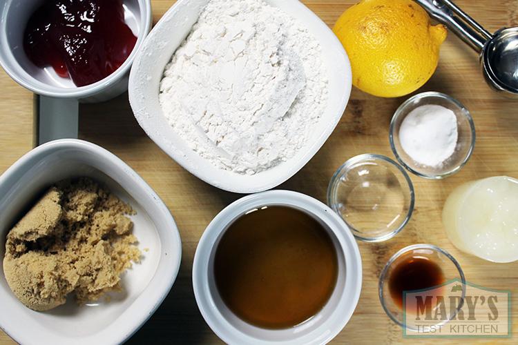 vegan cookie ingredients