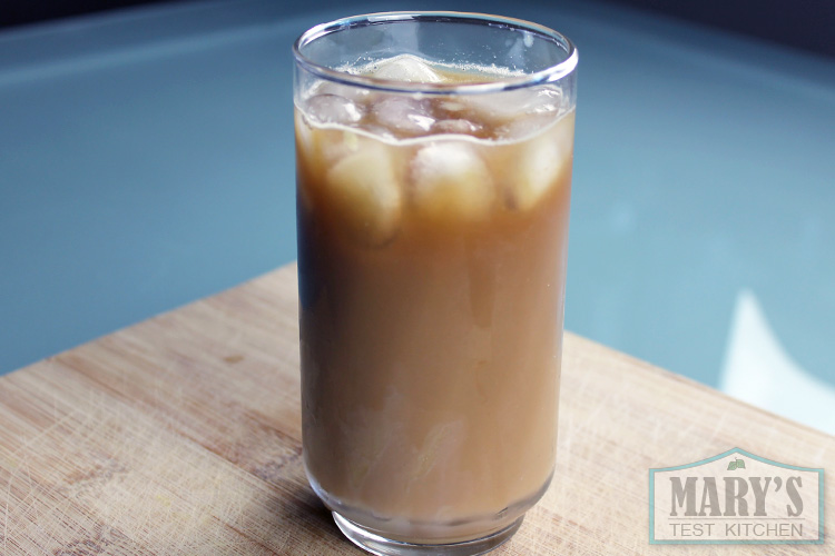 hong kong style iced milk coffee