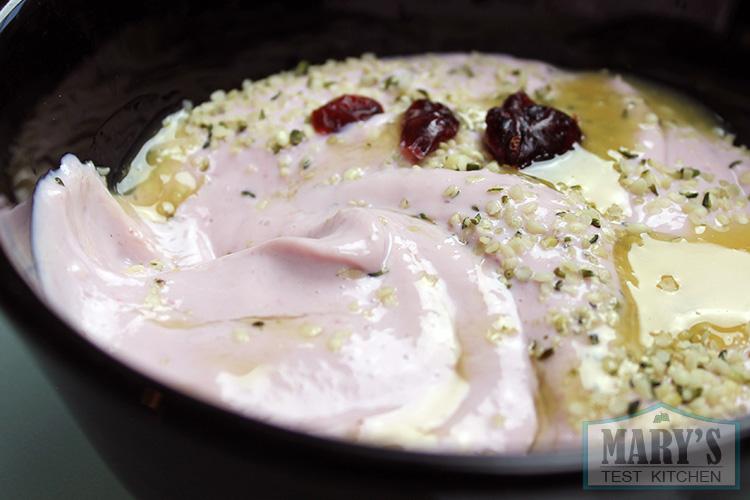 vegan-strawberry-greek-yogurt-silken-tofu-pudding-bowl