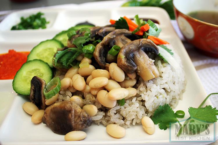vegan-hainanese-chicken-rice-close