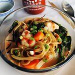 Coconut Miso Noodle Soup