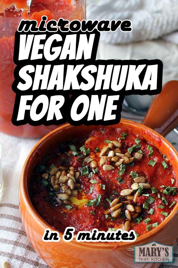 pin-able bowl of vegan shakshuka
