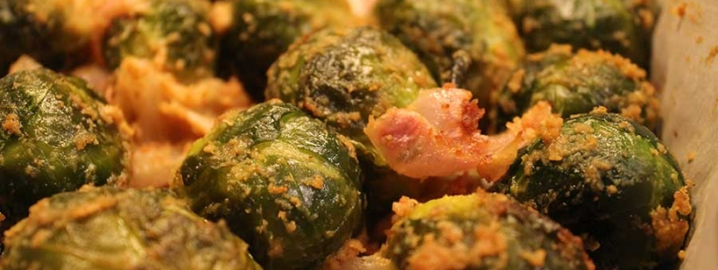 Brussels Sprouts Noob – Vegan Cheesy Roasted Brussels Sprouts Recipe