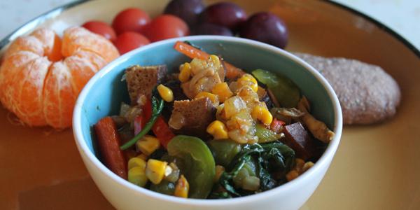 Vegan Recipe: Tantalizing Thai Curry Tofu Scramble