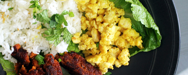 Vegan Longsilog – A Filipino Breakfast Plate by Astig Vegan