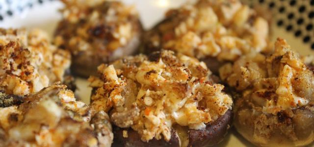 Cheesy Fungi (Stuffed Mushrooms) – Vegan Thanksgiving Recipe