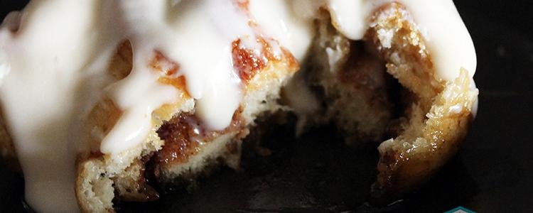 Vegan Cinnamon Rolls with Cream Cheese Icing