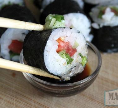Tomato Maki Sushi
