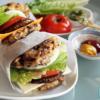 The  Fàn-tastic Burger Made Vegan! (飯tastic Burger/Rice Burger)