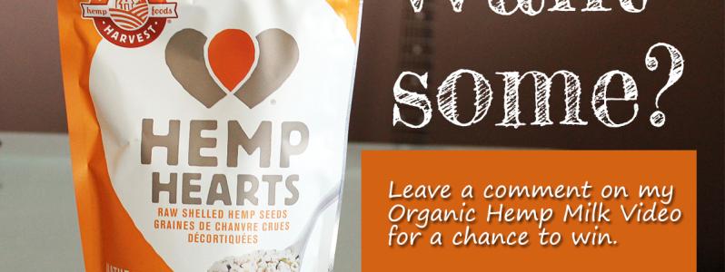 DIY Fresh Hemp Milk + Giveaway