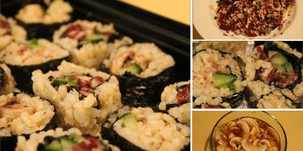 Sushi Addicts Not-So-Anonymous Pt 1 (vegan sushi recipe)