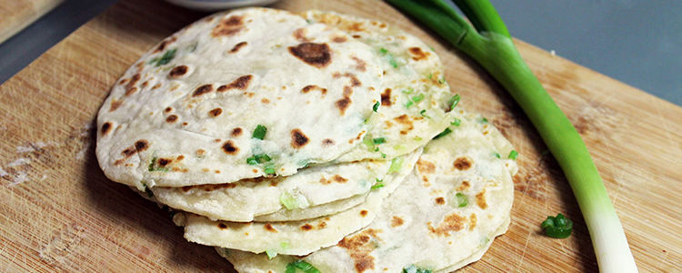 Green Onion Pancakes | Vegan Recipe