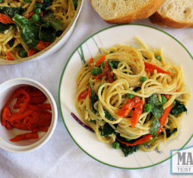 Vegan Smoked Salmon Spaghetti Carbonara