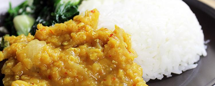 Singapore Curry Lentils