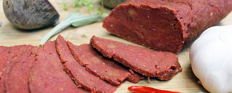 Spicy Vegan Beet Seitan | Vegan Recipe