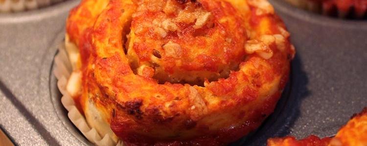 Vegan Tomato Garlic Cheesy Buns
