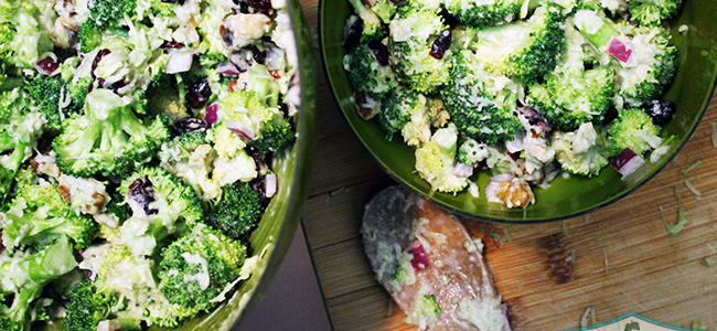 Vegan Broccoli Salad Recipe