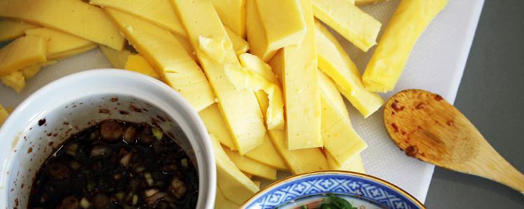 Vegan Burmese Tofu Salad Recipe