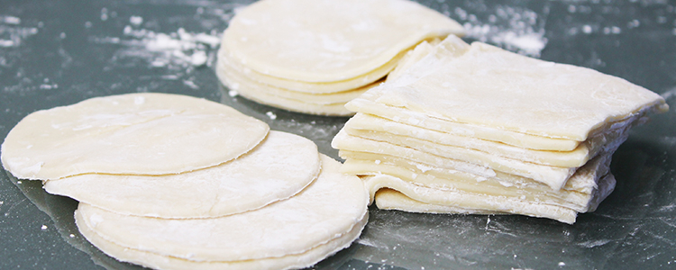 Easy Wonton Wrappers (or gyoza wrappers or dumplings wrappers)   Vegan Recipe