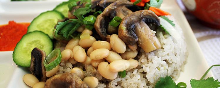 Vegan MoFo Day 2: Kid-Friendly Hainanese Rice