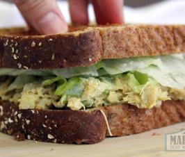 Vegan Jackfruit Chicken Salad