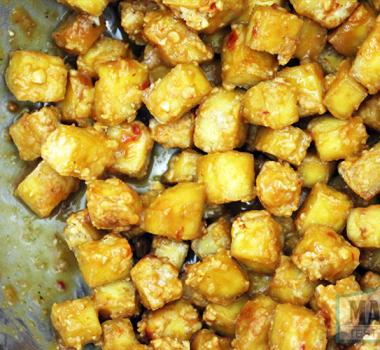 Easy Baked Peanut Tofu Recipe