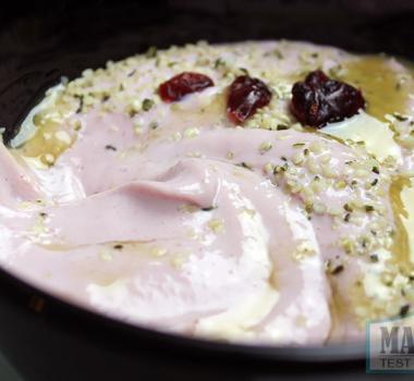 Strawberry Breakfast Pudding | Healthy High-Protein Vegan Recipe