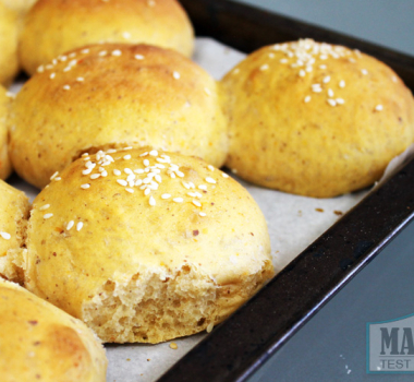 Vegan Sweet Potato Hamburger Buns