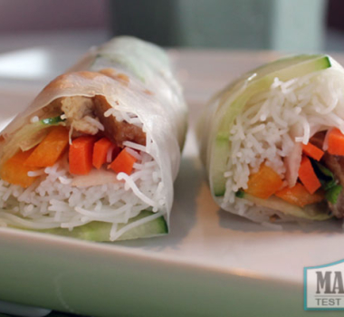Pretend Like It's Summer: Vegan Vietnamese Salad Rolls!